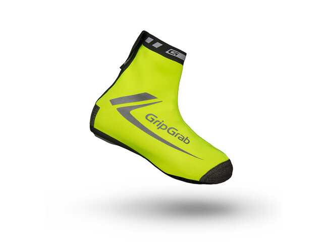 GripGrab RaceThermo Hi-Vis Überschuhe fluo yellow